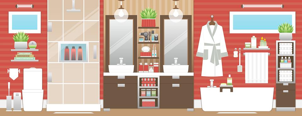 El baño: adornalo de manera fácil y original!
