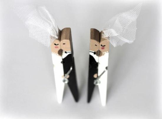 El regalo para los novios de boda…