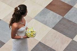 El tocado de la novia y las bodas